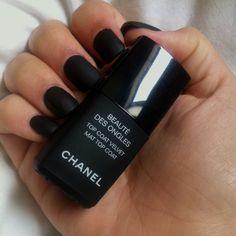 want a matte nail polish