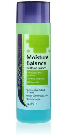 Elegant Touch Nail Polish Remover - Moisture Balance - Bi Phase Remover 200ml - http://www.css-tips.com/product/elegant-touch-nail-polish-remover-moisture-balance-bi-phase-remover-200ml/
