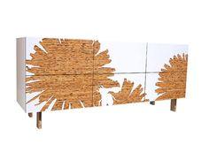 The Dandelion Dresser by design teamiannone:sanderson is made from reclaimedKirei board.