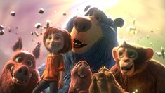 """Wonder Park"" tells the story of a magnificent amusement park where the imagination of a wildly creative girl named June comes alive.Starring the voices of Jennifer Garner, Matthew Broderick, Jo. Milla Jovovich, Captain Marvel, Monsieur Claude, Creative Girl Names, Disney Dumbo, Avengers Film, Best Movie Quotes, Version Francaise, Full Hd 1080p"