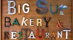 """Big Sur Bakery  & Restaurant www.bigsurbakery.com 47540 Highway 1 (831) 667-0520  Famous for their baked goods and wood-fired pizza, Big Sur Bakery is the go-to low-key, hotspot eatery. As Buhai simple puts, """"Any meal at the Big Sur Bakery is perfect.""""   - HarpersBAZAAR.com"""