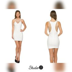 STUDIOL9   Abstract Olivia Dress - The quickest way to know a woman is to go shopping with her.