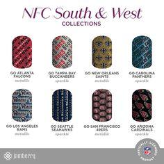 https://flic.kr/p/N8dg83 | NFL-V2_SMS-Icon-Collections_100616_NFC-SouthWest | NFL Volume 2 michellesholder.jamberry.com