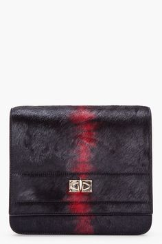 GIVENCHY black and red #clutch #bag