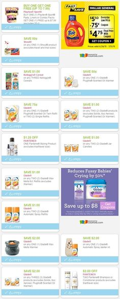 new printable coupons 07/05/15  playtex, pantene, kellogg's, glade, & more...  direct links:  http://www.iheartcoupons.net/2015/07/new-printable-coupons-070515.html