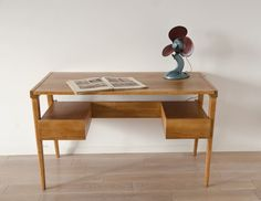 biurko - Hanna Lachert Teak, Office Desk, Corner Desk, Mid-century Modern, Art Deco, Mid Century, Organization, The Originals, Room