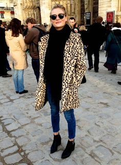 3 WAYS TO WEAR THE LEOPARD COAT