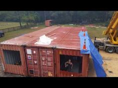 Container Home Start to Finish - YouTube