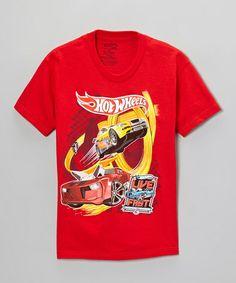 Love this Red Hot Wheels 'Live Fast' Tee - Kids on #zulily! #zulilyfinds