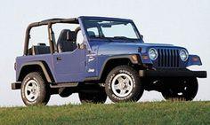 blue jeep wrangler!!