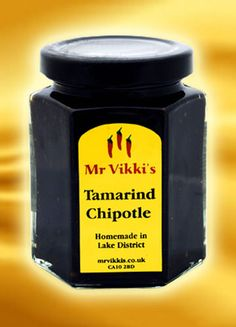 This stuff is beyond delicous with cheese. An absolute must for something a little different - smoky, spicy, hot. Just lush! Tamarind Chutney, Chipotle, Pickles, Spicy, Homemade, Hot, Lush, Cheese, Products