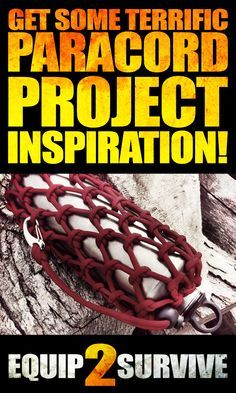 "Everything you need for your paracord projects! Ideas, inspiration, tutorials, knots, hardware, tools, tips, tricks, hacks, paracord ""survival grenades"" and more!"