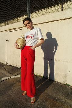 Reese Blutstein: I am loving red recently and have been incorporating it into all my outfits.