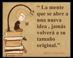 La mente se abre a una nueva idea