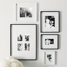 Black Fine Wood Frame 8x10'' | The White Company