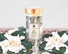 Indulge in the sweet, luxurious scent of spring gardenia blooms.