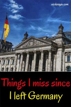 Things Germans miss after they left Germany I Typical German things I Germans abroad I Specialities of Germany I #Germany #expat
