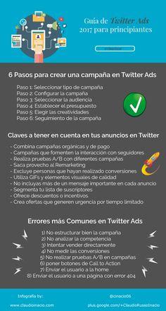 Guía de Twitter Ads para principiantes #SocialMedia #Twitter