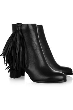 Christian Louboutin   Jimmynetta 70 fringed leather ankle boots   NET-A-PORTER.COM