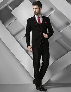 Terry Rayon Designer Plain Black Coat Suit | Buy Coat Suits at G3