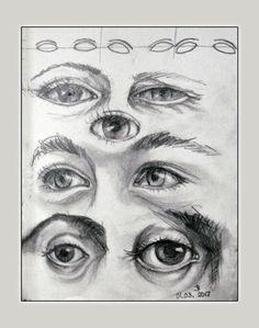 """Eyes"" sketches | Art Tutor"