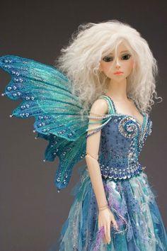 dolls by Martha Boers | Ice Fairy - Gallery 2010 - Antique Lilac