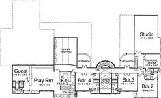 Floor Plan Upper Floor Plan Houseplans See More Joshua S House Plans