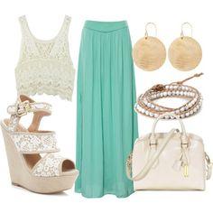 Outfit falda