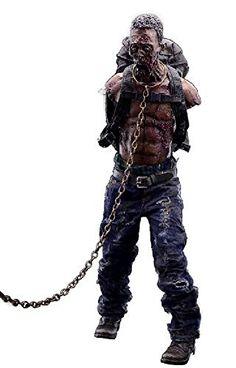 THE WALKING DEAD Michonne'Pet1 grün 1.6scale s ABS, PVC, bewegliche Figur bemalt