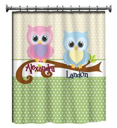 Owl Bathroom Bath Theme Canvas Or Prints Whimsical Owls Sister Brother Shared Wash Brush Rules Set Of 4 Decor Pictures Trm Design