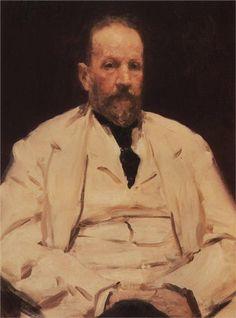 Portrait of Sergei Witte, Minister of Finance, 1903  Ilya Repin
