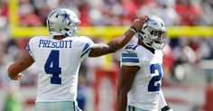 Dynamic on the field roommates off of it: The rookie duo of Elliott and Prescott that's shaping the Cowboys' future