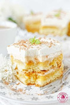 Polish Recipes, Polish Food, Food Cakes, Cake Recipes, Cheesecake, Food And Drink, Pudding, Sweets, Baking