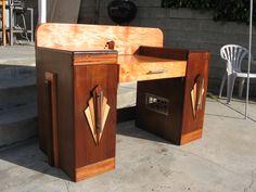 Art Deco Desk built by hullofsorrow on deviantArt
