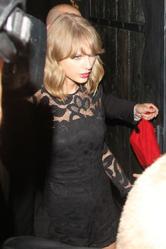 Taylor Swift leaving the VMA after-party // August 24, 2014