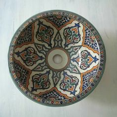 Marokkaanse waskom - 35 cm | Sultana