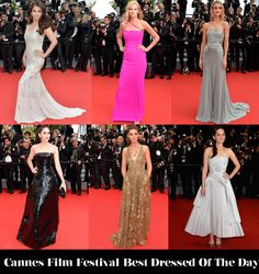 Who Was Your Best Dressed On Day 8 of Cannes Film Festival 2014?