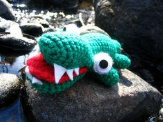 Our cat Oden LOVES this alligator. Baby Gator by Bitter-Sweet-, via Flickr
