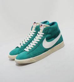 NikeBlazer vintagesuede - green