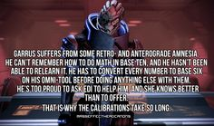 Mass Effect Headcanons: Photo Mass Effect Garrus, Mass Effect Art, Mass Effect Funny, How To Do Math, Mass Effect Universe, Commander Shepard, Gamer Humor, Dragon Age, Confessions