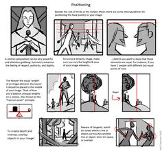positioning handout ✤ || CHARACTER DESIGN REFERENCES | キャラクターデザイン | çizgi film • Find more at https://www.facebook.com/CharacterDesignReferences & http://www.pinterest.com/characterdesigh if you're looking for: #point #curvilinear #perspective #animation #how #to #draw #drawing #tutorial #lesson #balance #power #lines #sketch #composition #anatomy #line #art #foreshortening #curves #comics #tips #cartoon || ✤