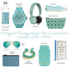 Turquoise Accessories Turquoise Accessories, Chf, Pierre Hardy, Issey Miyake, Lacoste, Miu Miu, Ray Bans, Shopping