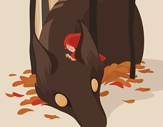 """Check out new work on my @Behance portfolio: """"Little Red Riding Hood"""" http://be.net/gallery/43939861/Little-Red-Riding-Hood"""