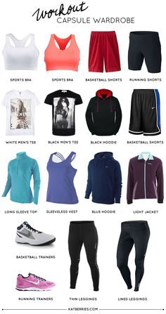 capsule workout wardrobe - Google Search
