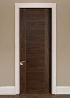 Custom Interior Doors in any style, size or shape. Unique designs, expert craftsmanship, and superior quality hardwoods for supreme customer satisfaction. CUSTOM SOLID WOOD INTERIOR DOORS - by Doors for Builders, Inc. Solid Core Interior Doors, Custom Interior Doors, Door Design Interior, Modern Interior, Internal Wooden Doors, Wooden Front Doors, Wood Doors, Barn Doors, Entry Doors