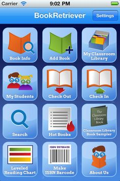 I want to check into this. It inventory your entire classroom library. Leveling choices include Guided Reading Levels, Lexile, Accelerated Reader, Reading Counts, DRA and Reading Recovery. Teaching Technology, Educational Technology, Daily 5, Library App, Library Books, Class Library, Literature Books, Library Cards, Class Books