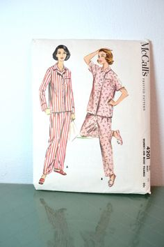 1950s Vintage McCalls Pattern 4201 Womens Two by TabbysVintageShop, $8.00
