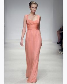 My favorite new chiffon style from Amsale's Fall 2012 collection.