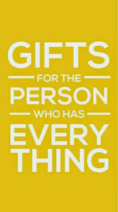 What To Get Someone For A Wedding Gift That Has Everything : Daily Momtivity: What to Get for the Person Who Has Everything