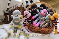 Το πιστεύεις ότι με ένα ζευγάρι κάλτσες μπορείς να φτιάξεις το πιο απίθανο γεμιστό κουκλάκι – μαϊμουδάκι; Στο craftpassion.com θα βρεις λεπτομερείς οδηγίες με φωτογραφίες για κάθε βήμα, ώστε …